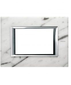 carrara marble cover plate