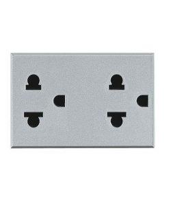 axolute Euro-US standard double socket