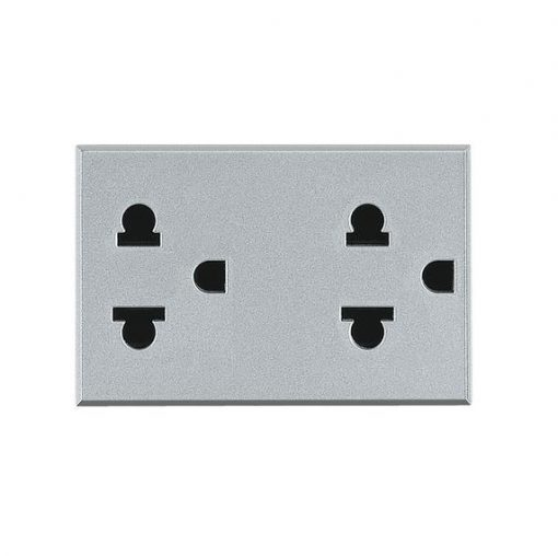 axolute Euro-US standard double socket