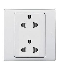 Mallia Euro-US standard 2 gang socket