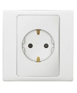 Mallia German standard 1 gang socket