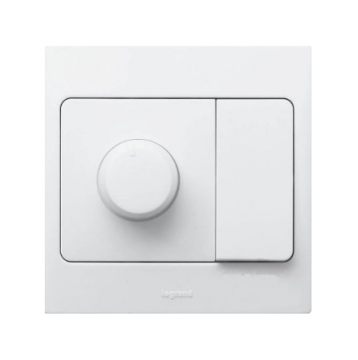 Mallia Rotary dimmer with switch