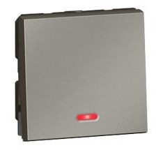 Arteor 2-way switch with indicator