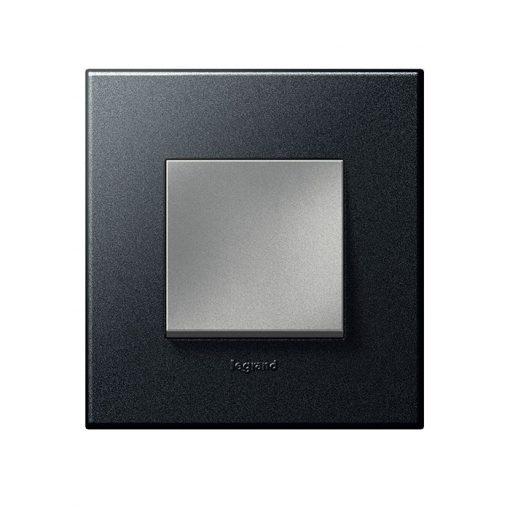 Mặt che nhựa đen Arteor - 2 module