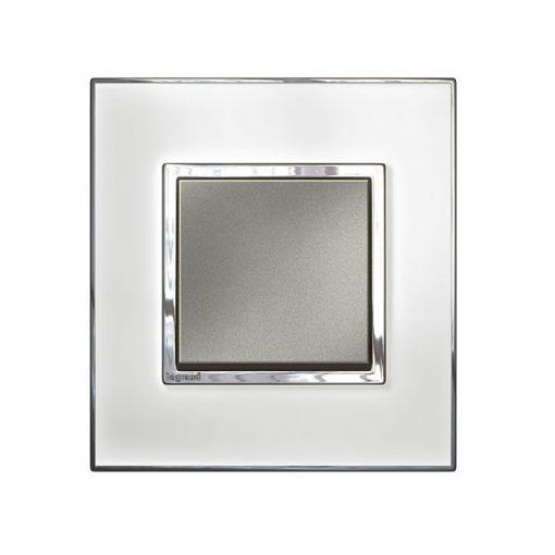 Mặt che kính trắng Arteor - 2 module