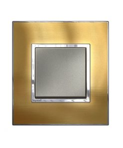 Mặt che vàng đồng Arteor - 2 module