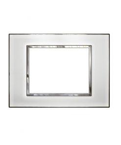 Mặt che kính trắng Arteor - 3 module