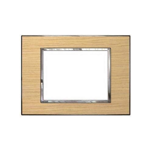 Mặt che gỗ sồi Arteor - 3 module