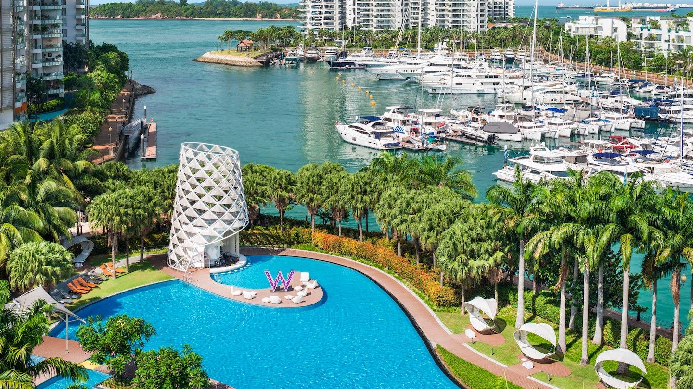 сингапур фото пляжей и отелей круглый год